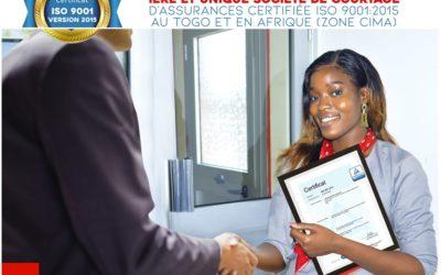 La Protectrice Assurances: 1ère et unique société de courtage d'assurances certifiée IOS9001 v2005 dans la zone CIMA